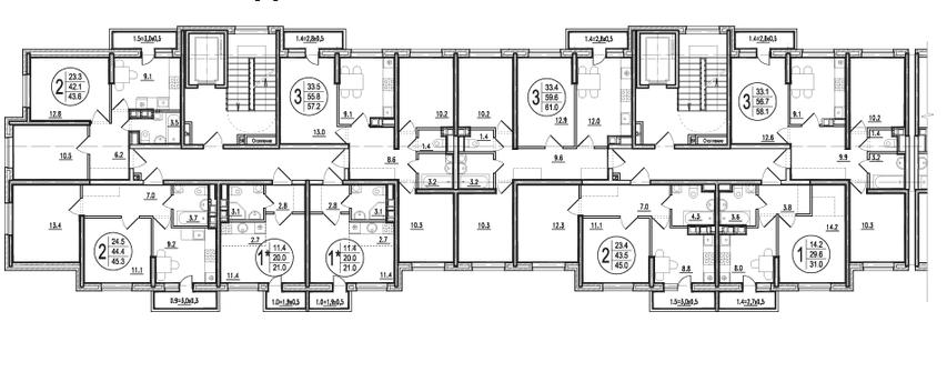 Типовой этаж 2